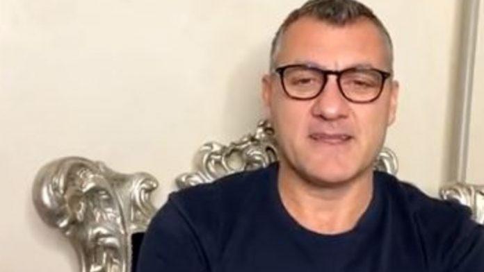 Bobo Vieri in diretta su Instagram