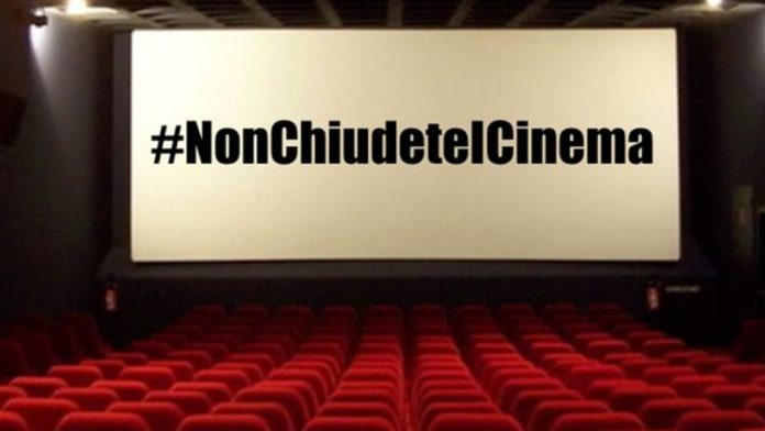 #NonChiudeteICinema