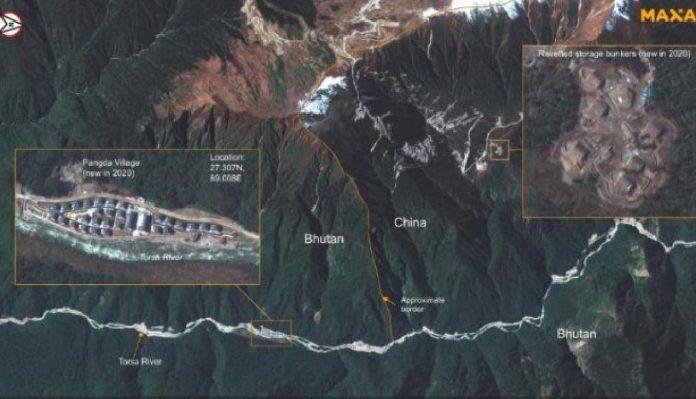 cina india bhutan