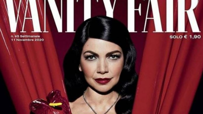 Cristina D'Avena su Vanity Fair