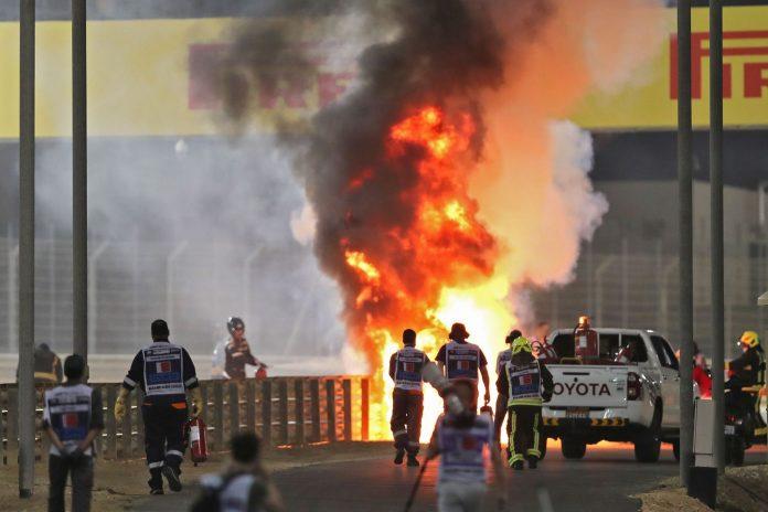 Tremende immagini incidente Bahrein