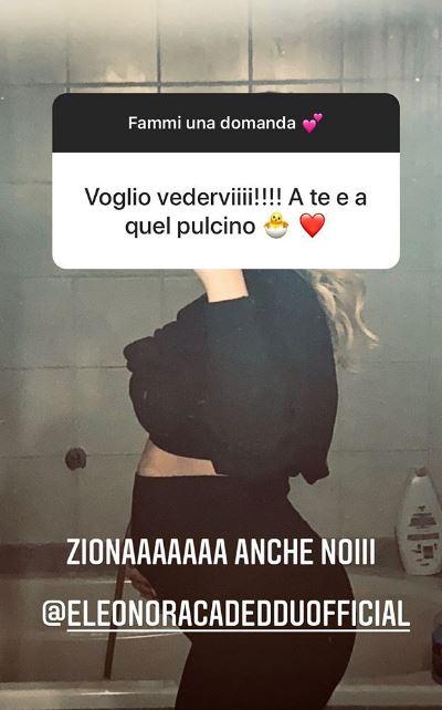 Il commento di ringraziamento ad Eleonora Cadeddu