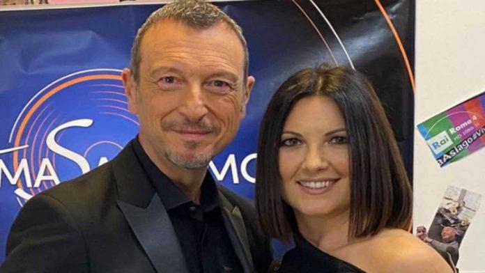 Amadeus e Giovana Civitillo