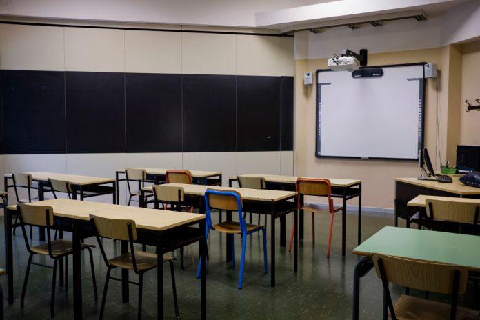 una clssae in una scuola