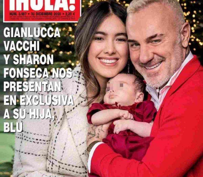 Gianluca Vacchi presenta la figlia malformazione palato