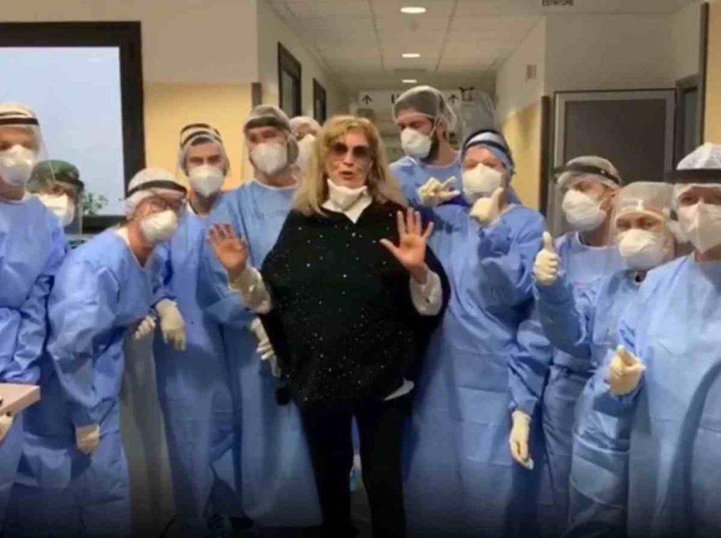 Iva Zanicchi ha problemi alla vista e agli occhi coronavirus