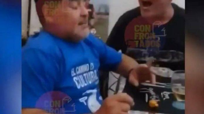il video shock con maradona protagonista