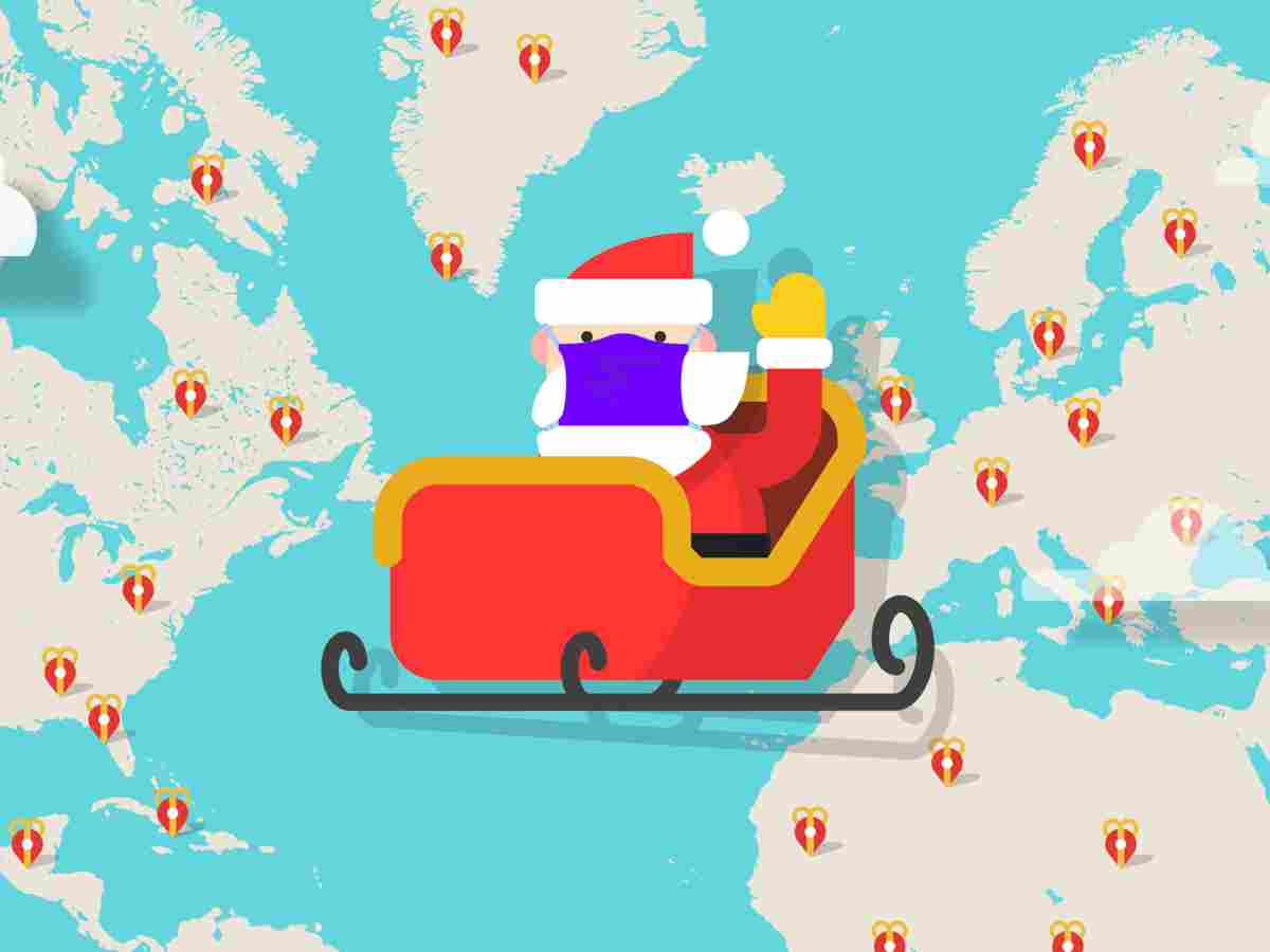 Dove Si Trova In Questo Momento Babbo Natale.Santa Tracker Come Seguire Il Viaggio Distanziato Di Babbo Natale Nel 2020