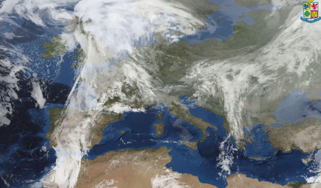 Previsioni meteo 25 gennaio: ultime piogge e nevicate