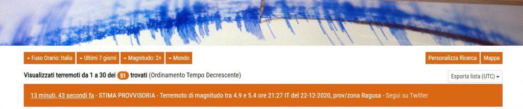stima provvisoria terremoto ragusa