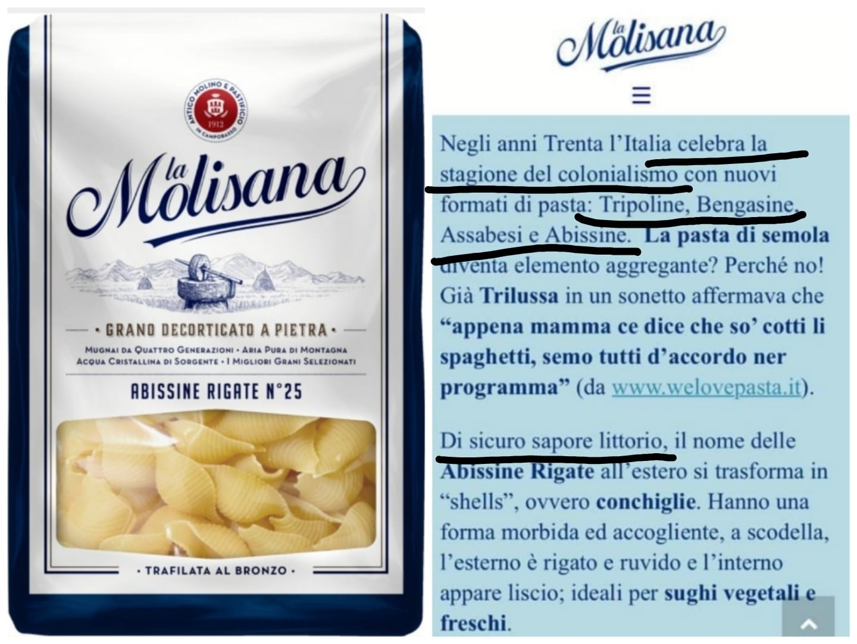 """Pasta dal """"sapore littorio"""", La Molisana nella bufera: """"Nessun intento  celebrativo"""""""