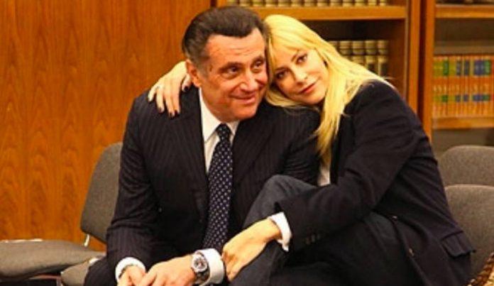 Andrea Roncato Stefania Orlando fine matrimonio