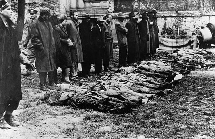 civili tedeschi orrore campi concentramento Auschwitz dopo liberazione