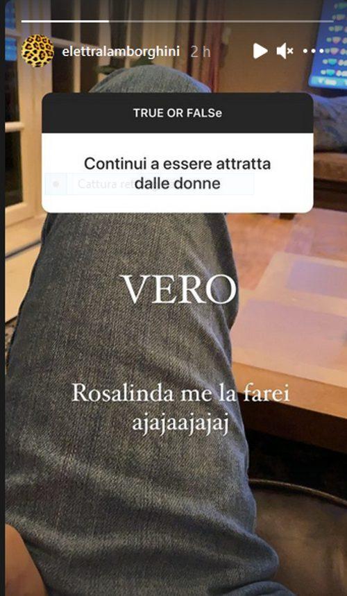 Elettra Lambroghini Adua Del Vesco Rosalinda
