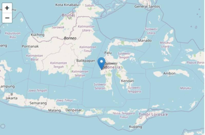 epicentro terremoto indonesia