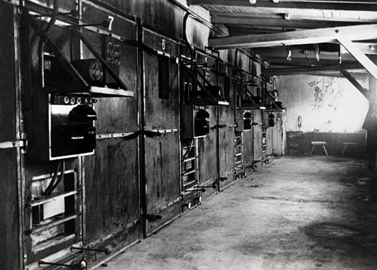 I forni crematori ad Auschwitz