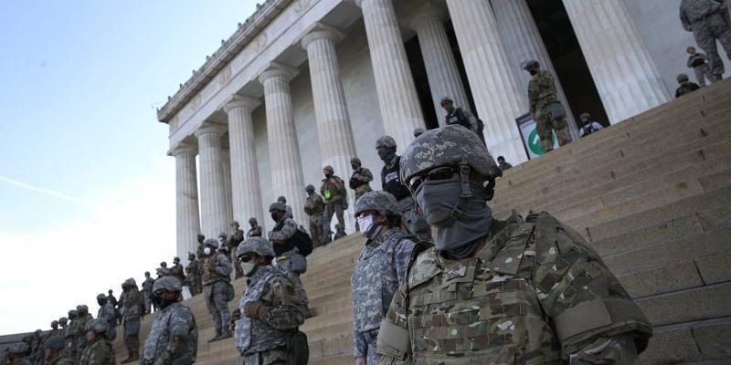 Guardia Nazionale americana Black Lives Matter