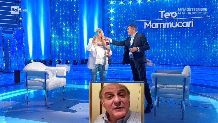 Mara Venier Jerry Scotti Teo Mammuccari