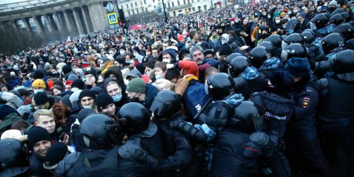 navalny russia proteste