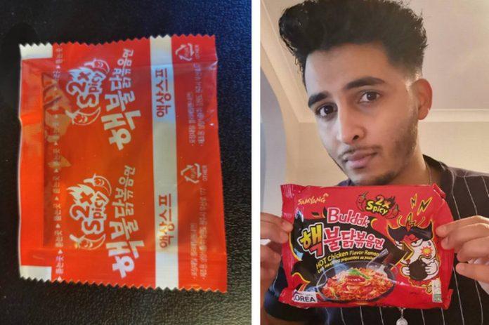 noodles piccanti rimane sordo