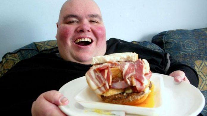 uomo più grasso GB