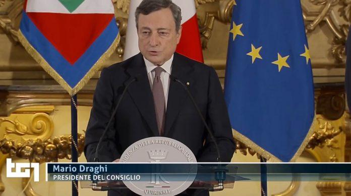 Draghi Rai Uno