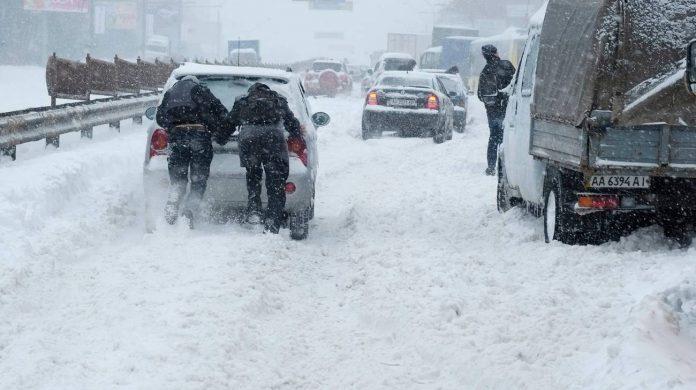 Neve in ucraina