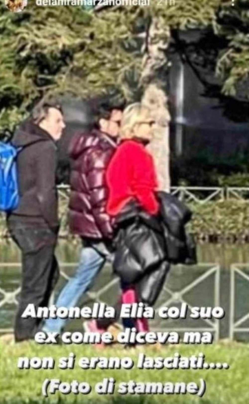 Antonella Elia Piero Delle Piane