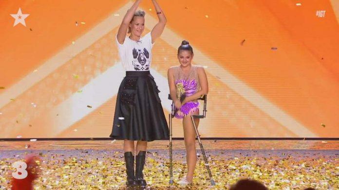 Federica Pellegrini Italia's Got Talent
