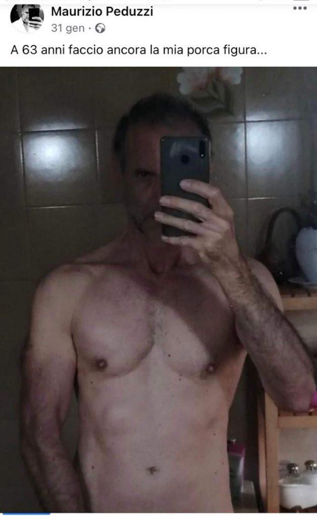 peduzzi a torso nudo