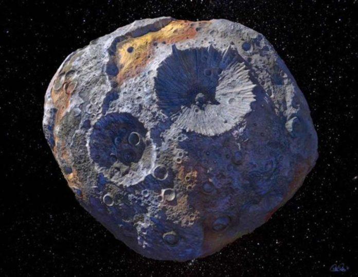 psiche asteroide