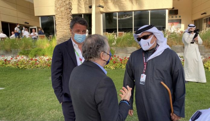 Renzi in Bahrain