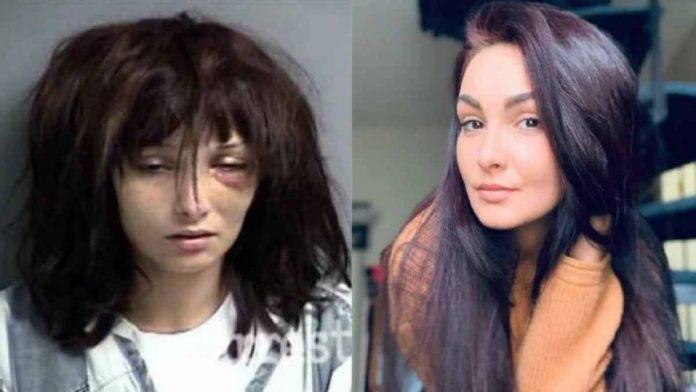Madison McManus prima e dopo la dipendenza