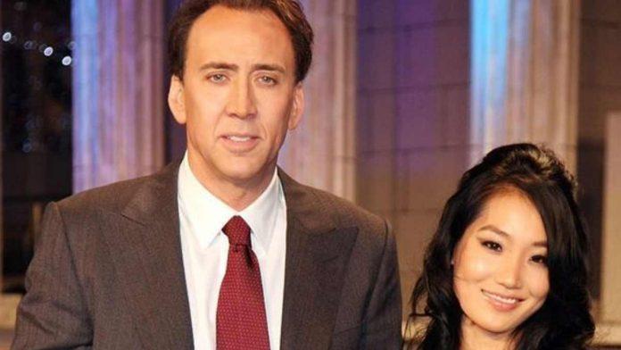 Nicolas Cage e compagna