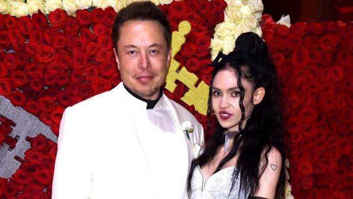 Grimes con Elon Musk