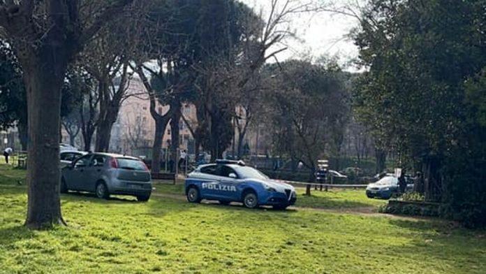 Villa Gordiani polizia