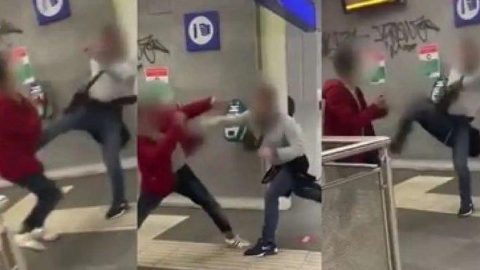 aggressione omofoba roma