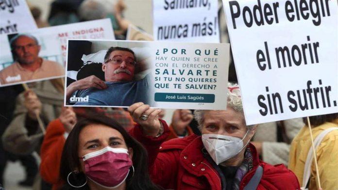 Spagna eutanasia