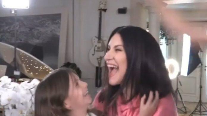 La gioia di Laura Pausini