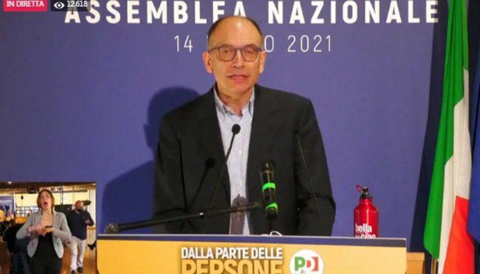 Enrico Letta discorso PD segreteria