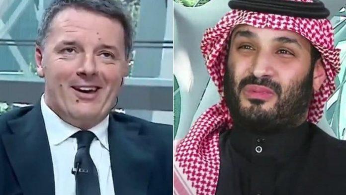 renzi e il principe saudita