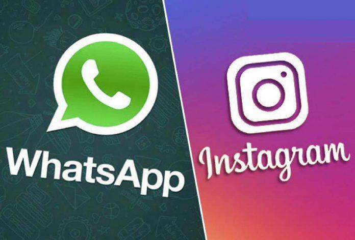 Whatsapp Instagram crash