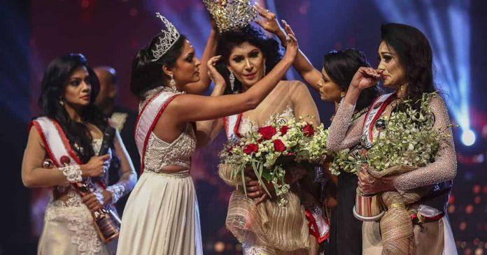 vincitrice Mrs Sri Lanka