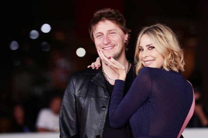 Stefania Orlando e il marito