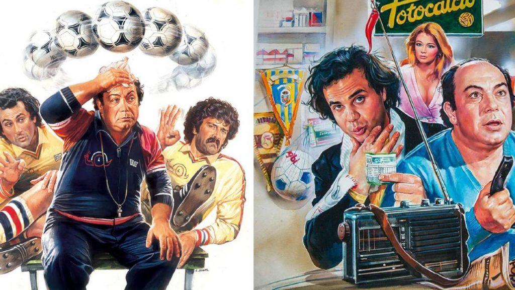 Enzo Sciotti, i poster di due film italiani