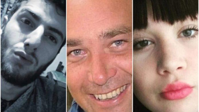 i volti dell'omicidio di Avellino