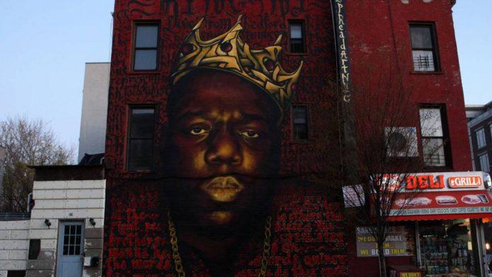 notorious big - murales