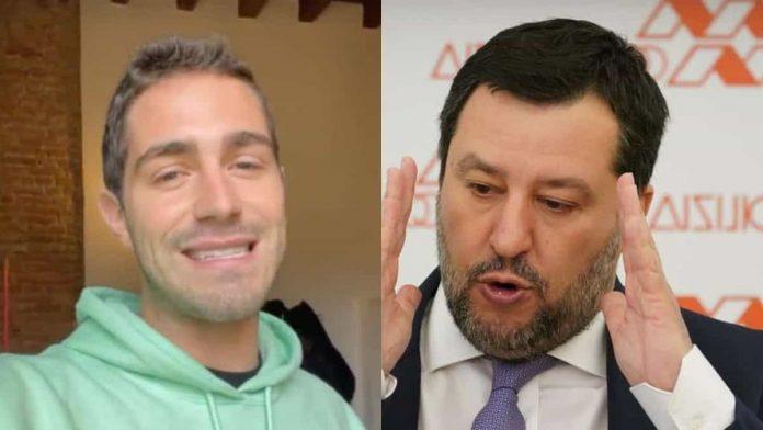 scontro Zorzi Salvini