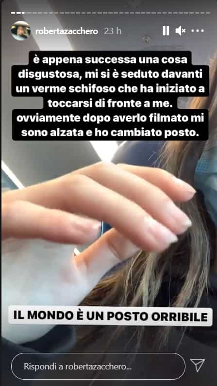 Roberta Zaccaro incidente
