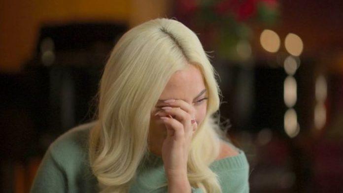 lady gaga - lacrime intervista